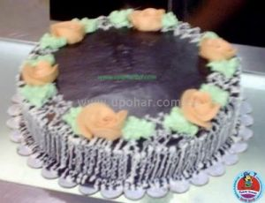 cake with rich chocolate flavour