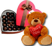 Chocolate & Teddy Bear