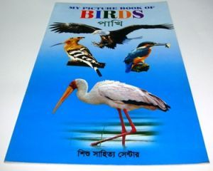 Picture book of bird, fish and vegetable