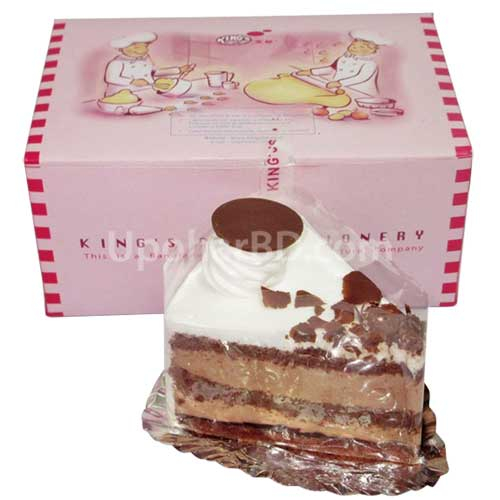 Swiss blackforest pastry slice from Kings