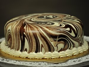 Marble cake from Well Food