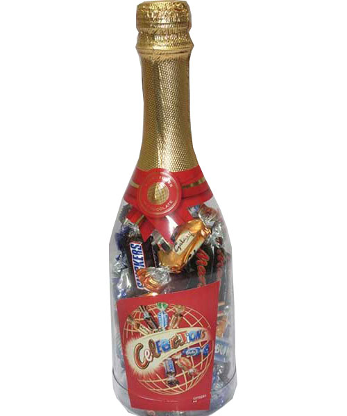 Celebration mix chocolate bottle 320gm