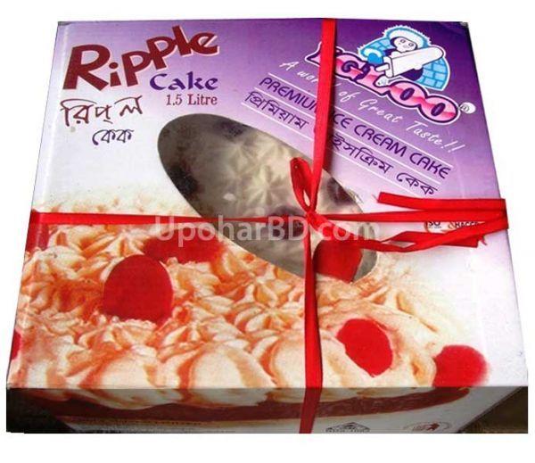 Igloo Ripple Cake Price: Igloo 1.5 Litre Ripple Ice Cake