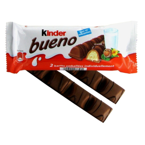Kinder bueno 2 bars pack