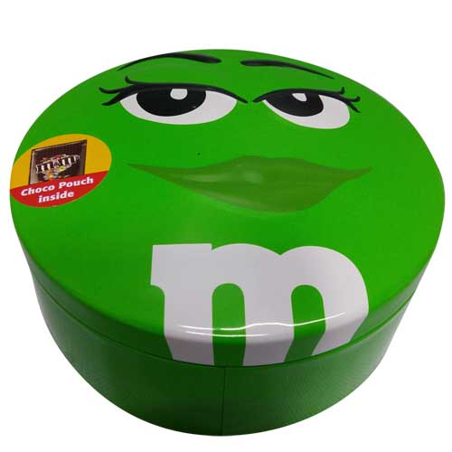 1 Green box of M&M 200gm