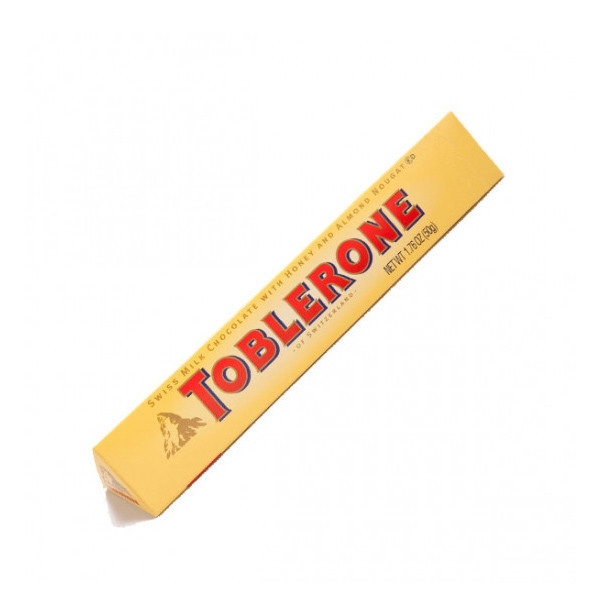 Toblerone Swiss chocolate bar