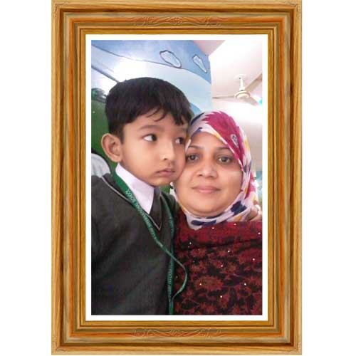 Digital photo printed board