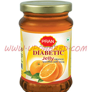 Pran diabetic orange jelly