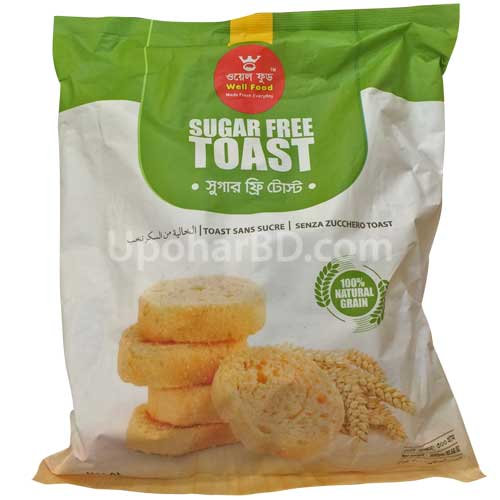 Well food Sugar free Toast
