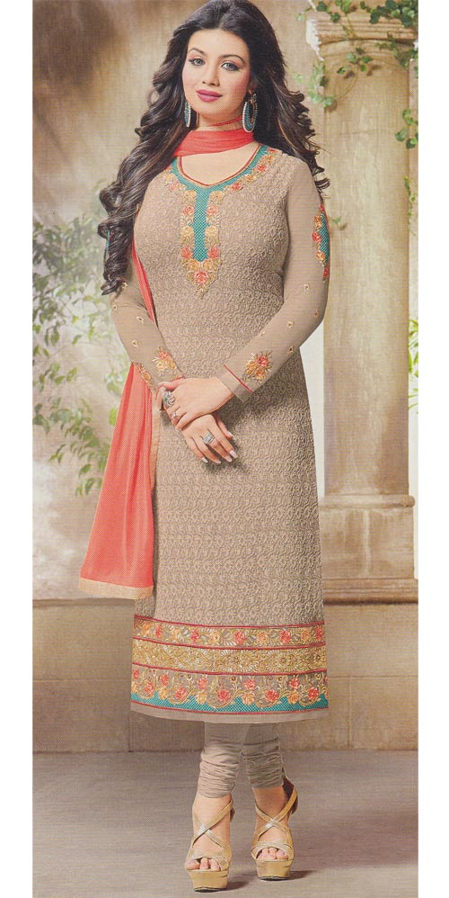 Gray Designer Exclusive Fancy Traditional suit by Zisa collection