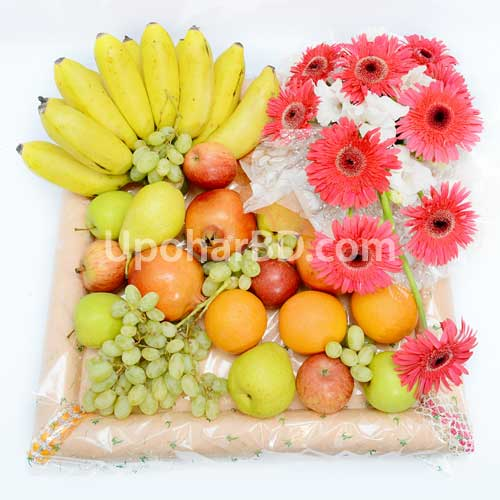 Fruit package with juice