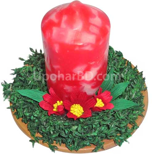 Aarong handicraft candle