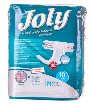 Joly Adult Diapers 10 pieces pack