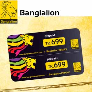 Banglalion Scratch Card (699 tk Pre-Paid)