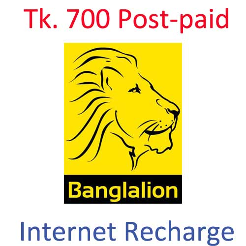 Banglalion Smart pay (Post-Paid)