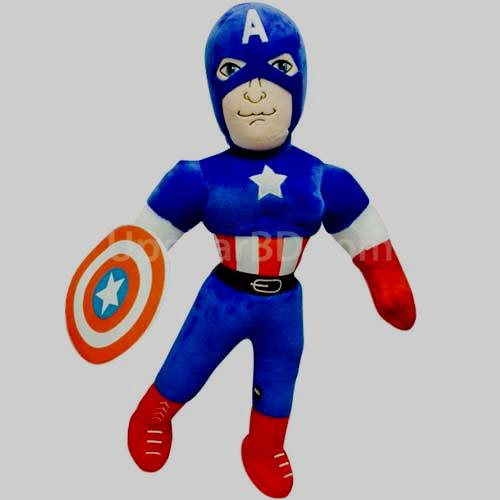 Captain america large teddy character