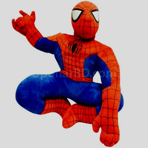 Spiderman large soft toy