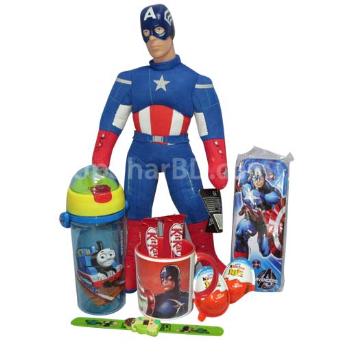 Captain America Combo with Chocolates