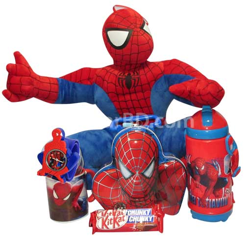 Spiderman Combo with Chocolates