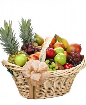 Large Mixed fruit basket