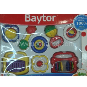 Baby Toys, Rattles and Teethers box