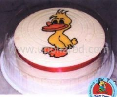 Cake with Donald duck design