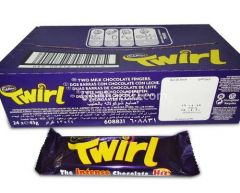 1 box of Cadbury Twirl (24pc x 43gm)