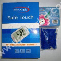 Safe Touch Compact Blood Glucose Meter Kit