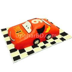 Car shaped cake