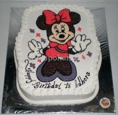 Cake with Mickey mouse