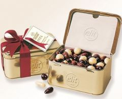 Elit gourmet dragee gift tin pack