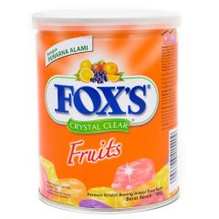 Foxs crystal clear fruits candy box