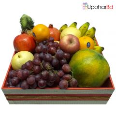 Large mix fruit basket for Chittagong