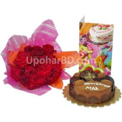 Gift package with Nutrient cake