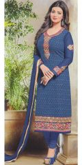 Nevy Blue Designer Exclusive Fancy Traditional suit by Zisa collection