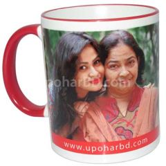 Mug with printed photo