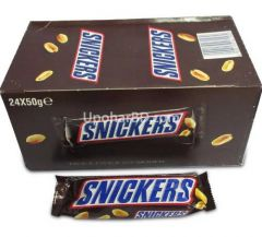 1 box of Snickers (24pc x 50gm)