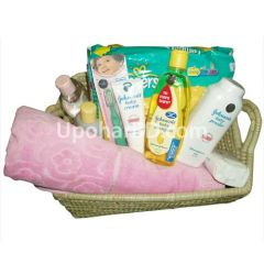 Johnson New born baby Pink package (girl)