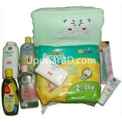 Johnson New born baby Boy Blue Package