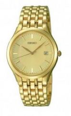 Seiko gold tone wrist watch