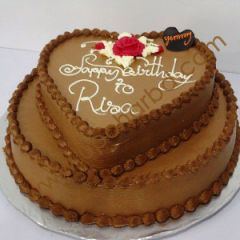 Chocolate Flavour Cake With Love