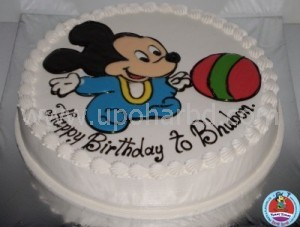 Cake with Mickey