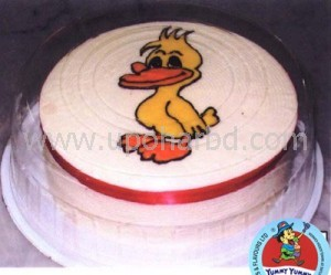 Larva Cartoon Cake Design : Birthday cakes online delivery - Cake with Donald duck ...