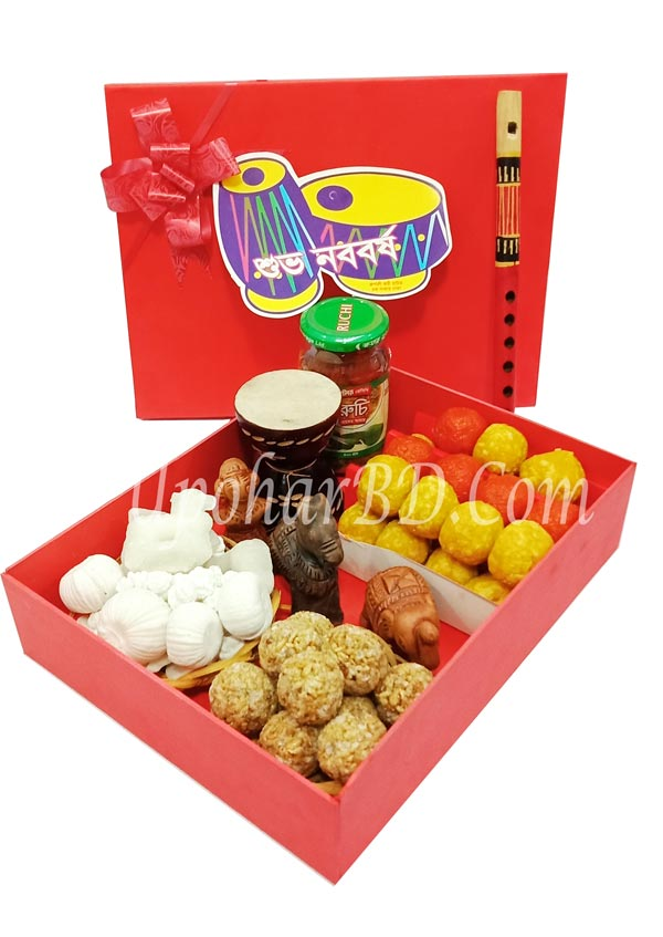 Traditional Gift Basket for Pahela Boisakh