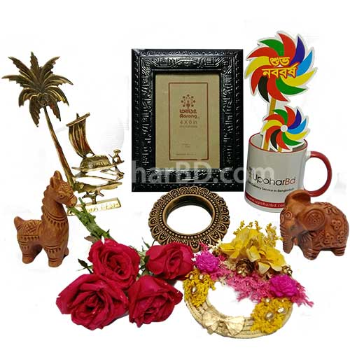 Instant home decor for Boishakh
