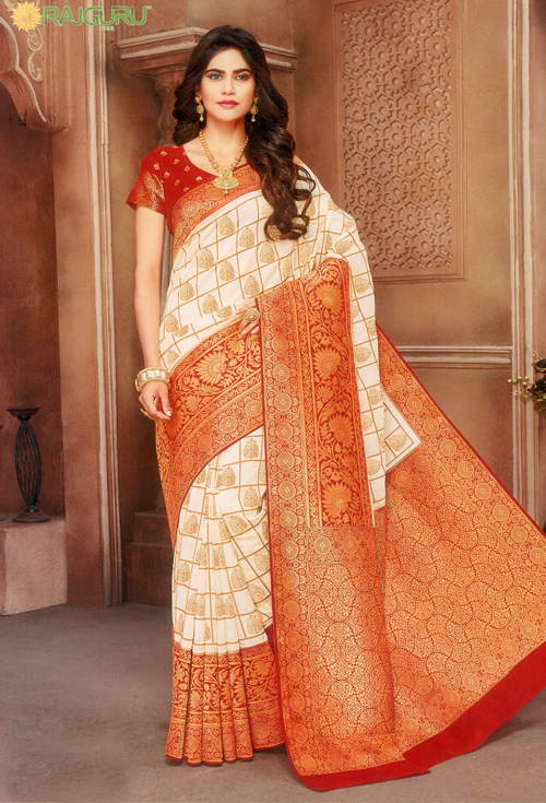 Designer body work Kanjivaram silk