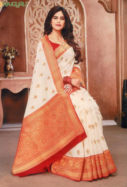 Trendy Kanjivaram  for her