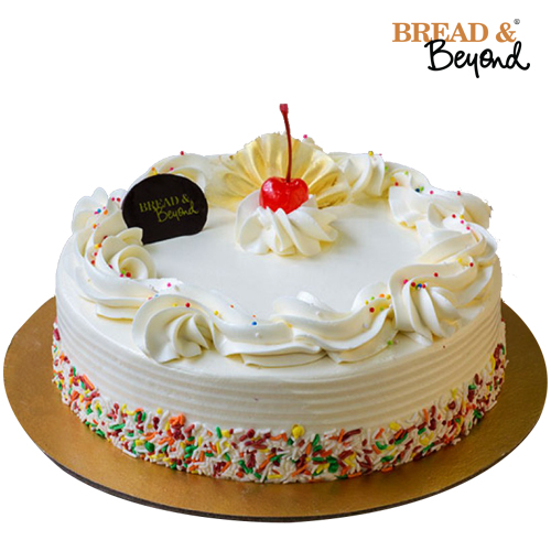 Vanila cake from Bread & Beyond