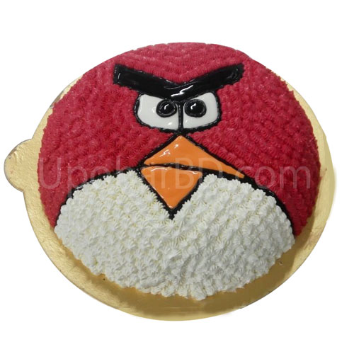Angry birds birthday cake for kids