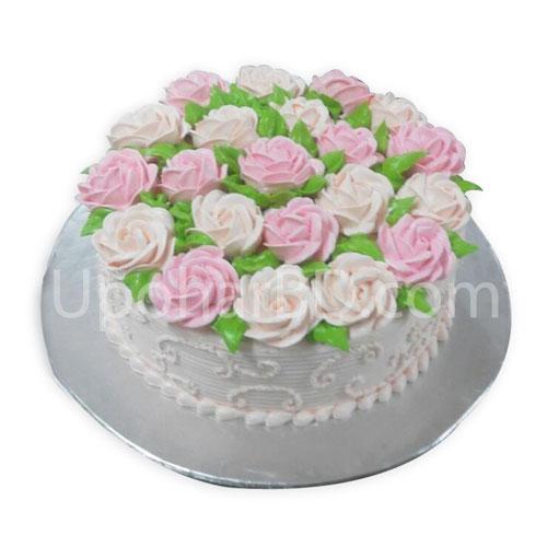 Rose Blossoms Designers Cake